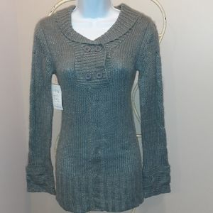 👚3 for $25 👚NWT Icon Apparel Grey Sweater, US M